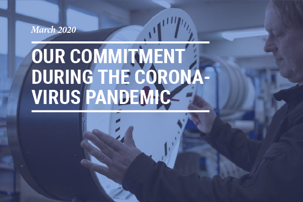 Info grafik Newsletter Commitment to Corona