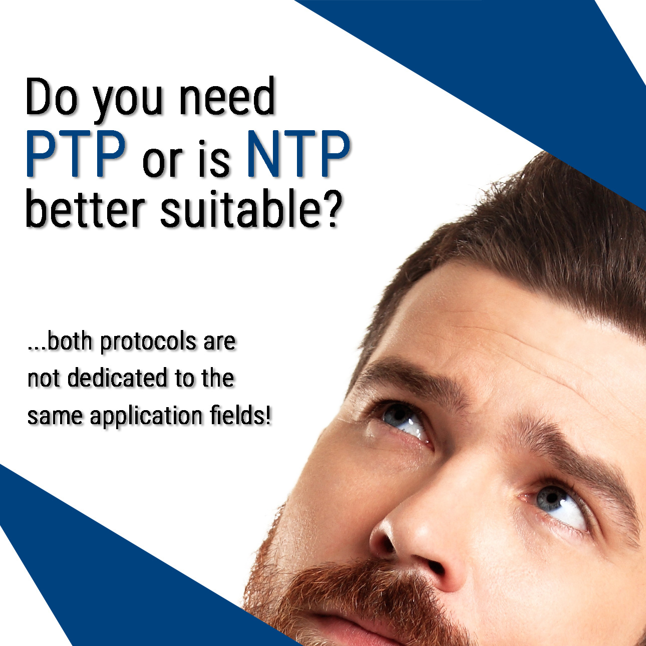 Do you need PTP or is NTP better suitable?