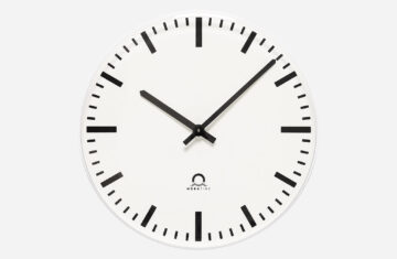 Mobatime Moderna rp indoor analogue clock white housing