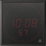 Mobatime DA57_fi indoor digital clock black housing