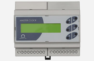 Mobatime HN60 master clock front view display