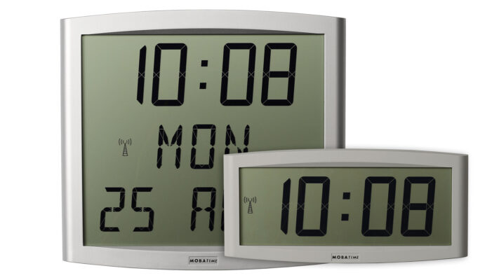 Mobatime cristaltime-cristaldate indoor digital clock