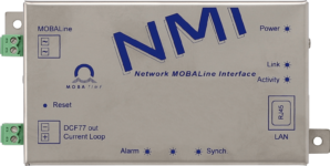 Mobatime NMI-fi network mobaline interface