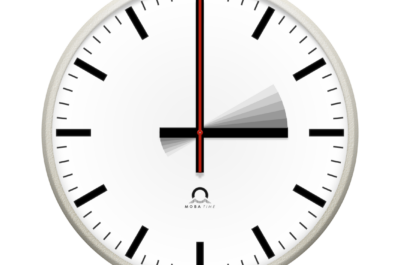 time changeover analogue clock